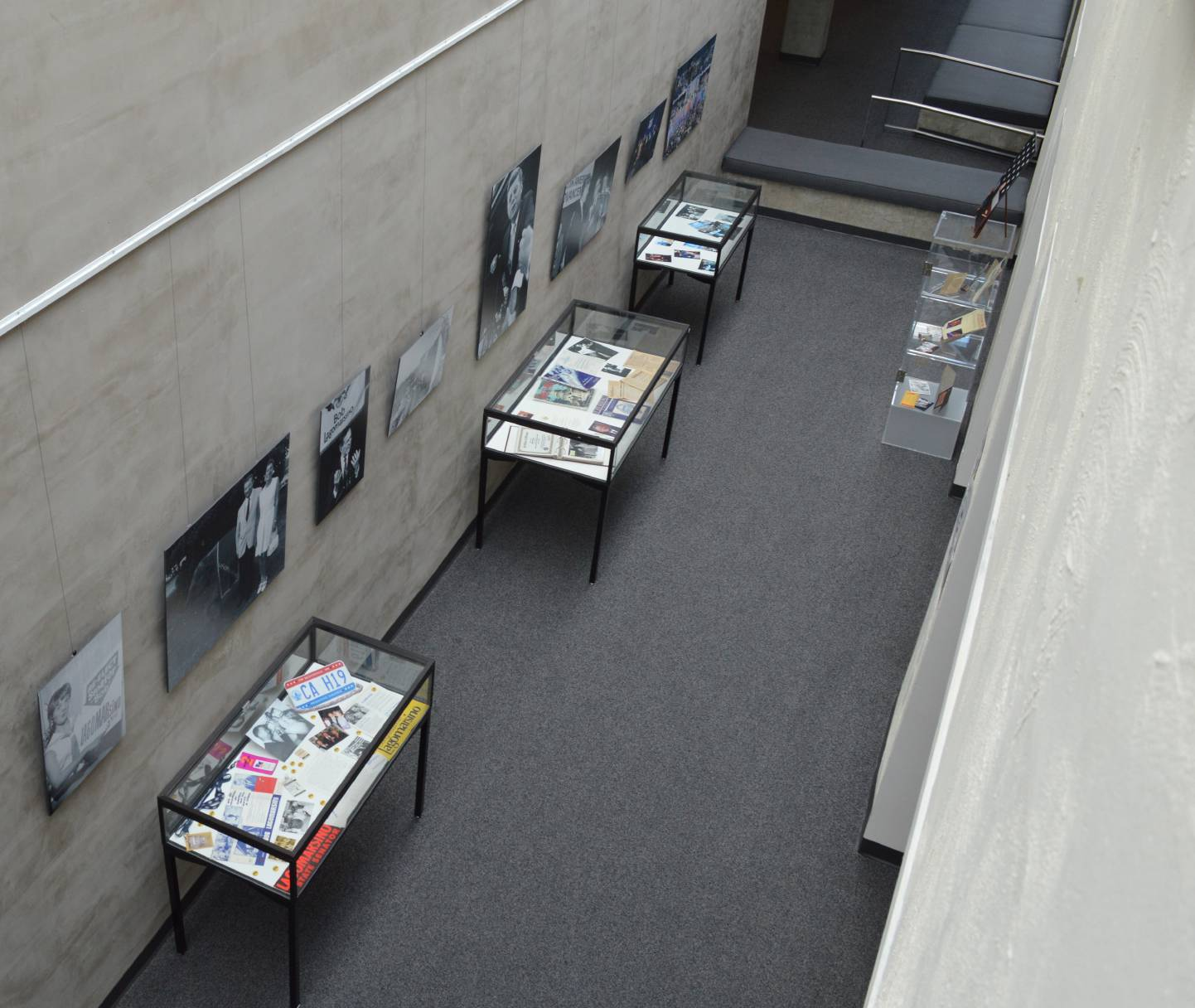 Ariel view of Exhibition Hall