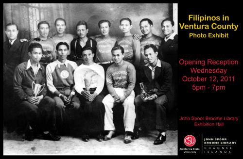 Filipinos in Ventura County postcard