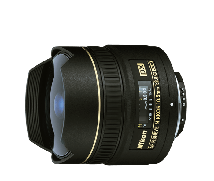 Nikon 10.5mm fisheye Lens